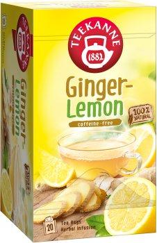 Чай трав'яний пакетований Teekanne Лимон і імбир 20 пакетиків (4009300525080)