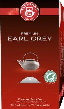 Чай черный пакетированный Teekanne с бергамотом 20 пакетиков (4009300006299)