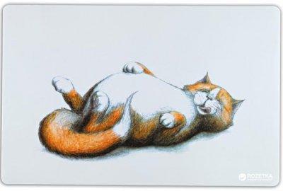 Коврик под миски для собак и кошек Trixie Thick Cat 44 x 28 см (4011905244754)