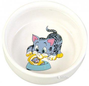 Миска керамическая для котов Trixie 300 мл 4009 (4011905040097)