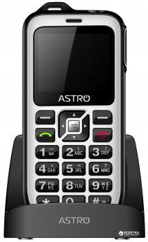Мобільний телефон Astro B200 RX Black/White