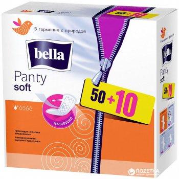 Ежедневные гигиенические прокладки Bella Panty Soft 50+10 шт (5900516312008)