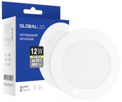 Світлодіодний світильник Global LED SPN 12W 3000K (1-SPN-007-C)