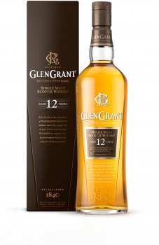 Виски Glen Grant 12 лет выдержки 1 л 43% (8000040630306)