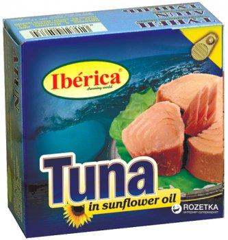 Тунец в подсолнечном масле Iberica 160 г ( 8436024290400)