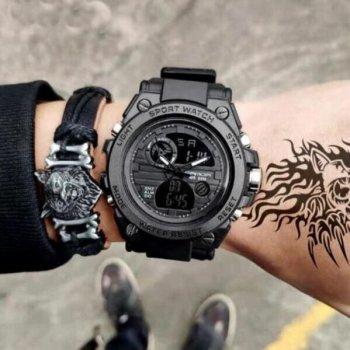 Чоловічі годинники SANDA TATTOO (4405)
