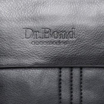 Мужская сумка через плечо из кожзама DR. BOND GL 305-0 black