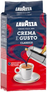 Кава мелена Lavazza Crema&Gusto 250 г (8000070038769)