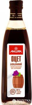 Уксус Akura спиртовой бальзамический 6% 330 мл (4820178460507)