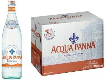Упаковка минеральной негазированной воды Acqua Panna 0.75 л х 15 бутылок (8000815024422)