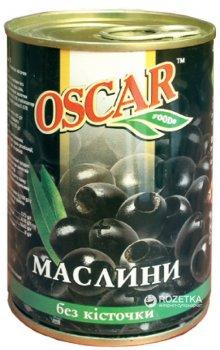 Маслины черные без косточки Oscar 425 г (8436024292107)