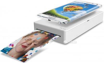 Мобільний фото-принтер Prinics PicKit M1 Smartphone Photo Printer Pink (M-1P)