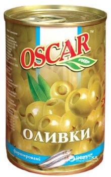 Оливки зеленые с анчоусом Oscar 300 г (8436024292169)