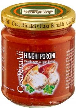 Соус томатный с белыми грибами Casa Rinaldi 190 г (8006165371216)
