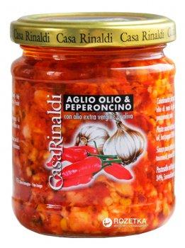 Соус с чесноком, маслом и острым перцем Casa Rinaldi 190 г (8006165373289)