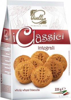 Печенье Piselli песочное из цельнозерновой муки 225 г (8032755321262)