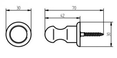 Крючок HACEKA Allure (401812)