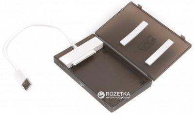 """Внешний карман Agestar для HDD 2.5"""" USB 2.0 (SUBCP1 (Black))"""