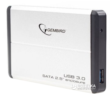 "Внешний карман Gembird для HDD 2.5"" USB 3.0 (EE2-U3S-2-S)"