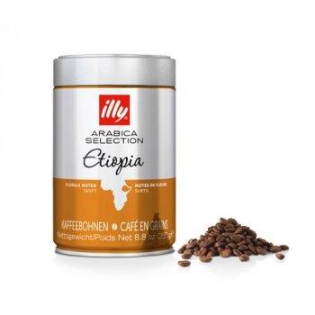 Кофе в зернах illy Ethiopia Monoarabica 250 г (8003753970066)