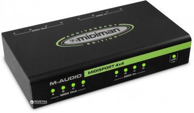 Аудіоінтерфейс M-Audio MIDISPORT 4x4 Anniversary Edition (MU-0026)