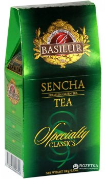 Чай зеленый рассыпной Basilur Избранная классика Сенча 100 г (4792252920729)