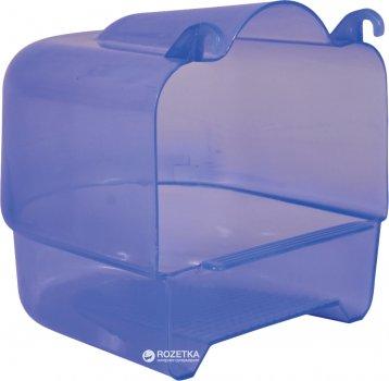 Бассейн для птиц Trixie 54032 15х16х17 см Прозрачно-голубой (4011905540320)