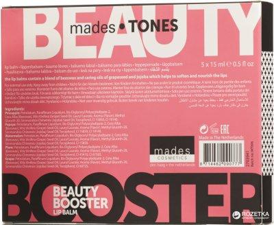 Набор бальзамов для губ Mades Cosmetics Tones (8714462090777)