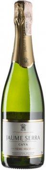Вино игристое Cava Jaume Serra Semi-Seco белое полусухое 0.75 л 11.5% (8411277205678)