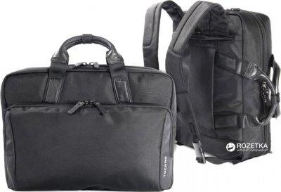 "Сумка-рюкзак для ноутбука Tucano Largo Profilo Premium II Bag 15.6"" Black (BLAPPR2)"