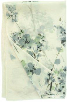 Шарф Traum 2495-21 Белый с серым (4820002495217)