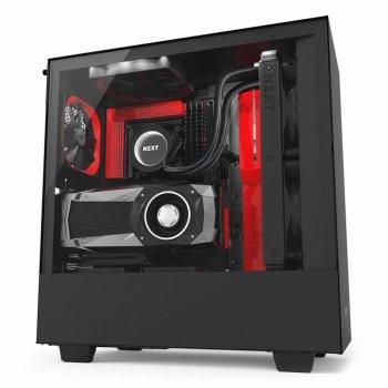 Корпус NZXT H500i Smart Black Red (CA-H500W-BR)