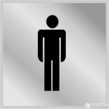 Табличка АТМА Туалет Чоловічий