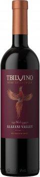 Вино Tbilvino Алазанська долина червоне напівсолодке 0.75 л 11.5% (4860038075403)
