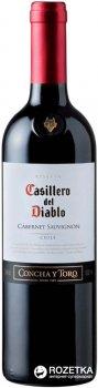Вино Casillero del Diablo Cabernet Sauvignon Reserva червоне сухе 0.75 л 13% (7804320303178)