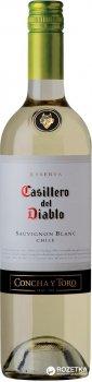 Вино Casillero del Diablo Sauvignon Blanc Reserva белое сухое 0.75 л 12% (7804320301174)