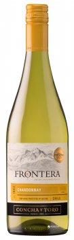 Вино Frontera Chardonnay белое полусухое 0.75 л 12% (7804320642277)