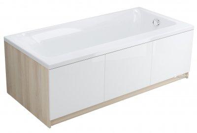 Ванна акриловая CERSANIT SMART 170 левосторонняя + ножки PW01/S906-001/PW04