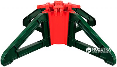Стійка для ялинки Form-Plastic Стар 22 см Зелена (5907474318998)