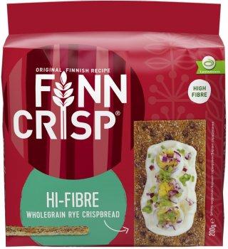 Хлебцы Finn Crisp Hi-Fibre ржаные с отрубями 200 г (6410500098393)
