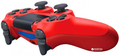 Бездротовий геймпад PlayStation Dualshock 4 v2 Magma Red