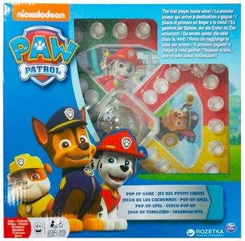 Гра настільна з кнопкою Spin Master Games Щенячий патруль (SM98282/6028796)