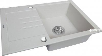 Кухонна мийка PERFELLI Tino PGT 134-66 White