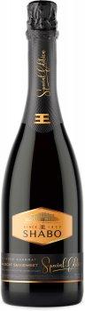 Вино игристое Shabo Special Edition Мускатное полусладкое белое 0.75 л 10.5-13.5% (4820070402681)