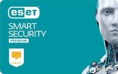Антивірус ESET Smart Security Premium (1 ПК) ліцензія на 2 роки Базова
