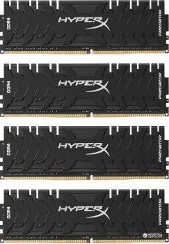 Оперативная память HyperX DDR4-3000 32768MB PC4-24000 (Kit of 4x8192) Predator (HX430C15PB3K4/32)