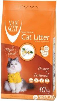 Наполнитель для кошачьего туалета Van Cat Super Premium Quality Orange Бентонитовый комкующий 10 кг (12 л)(8699245856385)