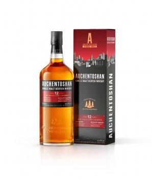 Виски Auchentoshan 12 Years 12 лет выдержки 0.7 л 40% (5010496001769)