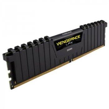 Модуль пам'яті для комп'ютера DDR4 16GB 2400 MHz Vengeance LPX Black CORSAIR (CMK16GX4M1A2400C14)