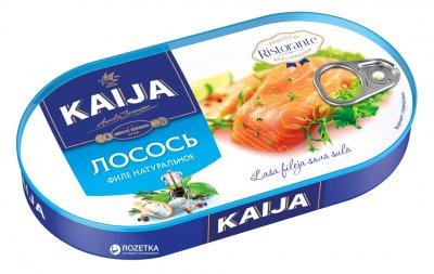Лосось филе натуральное Kaija 170 г (4751007734004)